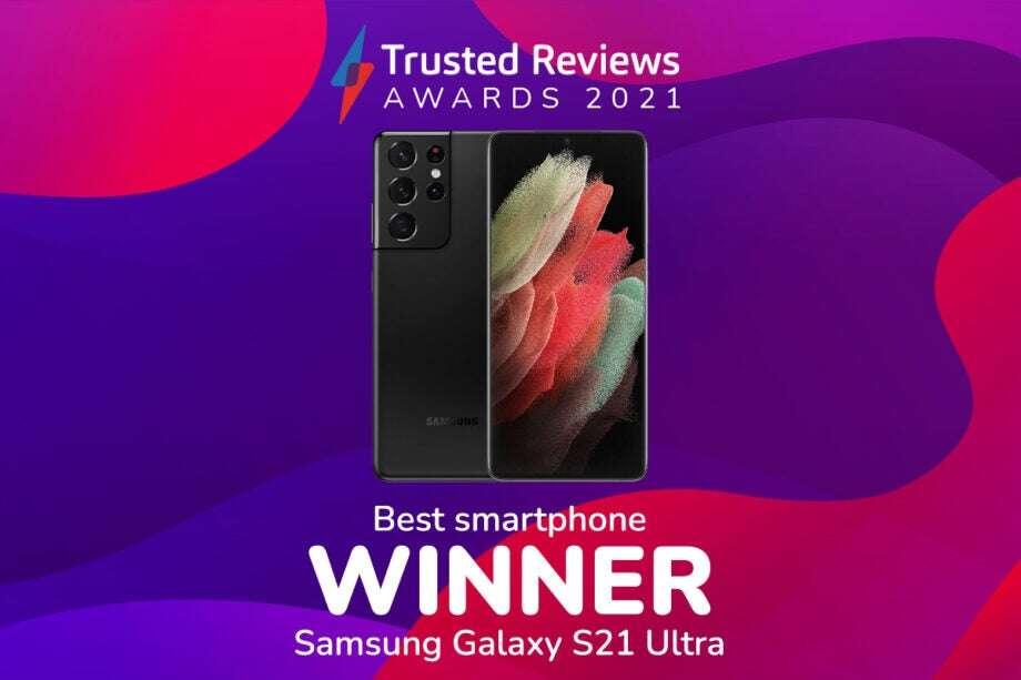 Samsung S21 Ultra win best smartphone 2021